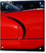 Red Viper Acrylic Print