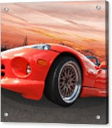 Red Viper Rt10 Acrylic Print