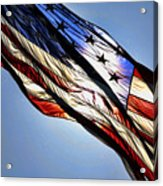 Red White  Blue Acrylic Print