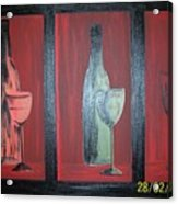 Red Wine Acrylic Print