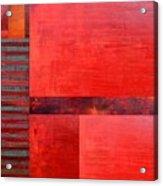 Red With Orange 2.0 Acrylic Print