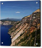 Redcloud Cliff Acrylic Print
