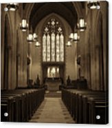 Redemption - Church Of Heavenly Rest #3 Acrylic Print