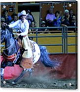 Rodeo Queen At The Grand National Rodeo Acrylic Print
