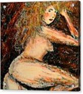 Redhead Dancer Acrylic Print