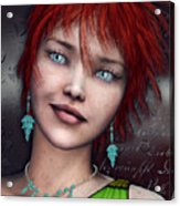 Redhead Acrylic Print