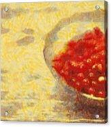 Redkurrants Acrylic Print