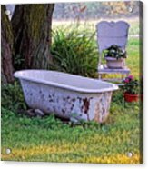 Redneck Hot Tub Acrylic Print