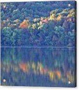 Rednor Lake Reflections - 1 Acrylic Print