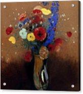 Redon: Wild Flowers, C1912 Acrylic Print