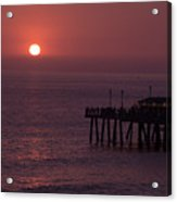 Redondo Beach Pier Acrylic Print