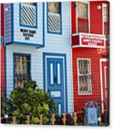 Reds And Blues Acrylic Print