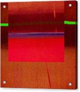 Redscape Acrylic Print
