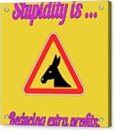 Reducing Bigstock Donkey 171252860 Acrylic Print