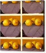 Redundant Lemons Acrylic Print