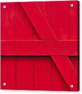 Redwood Acrylic Print by Tony Beck