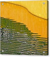 Refections Of Color Acrylic Print