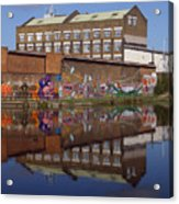 Refective Canal 2 Acrylic Print