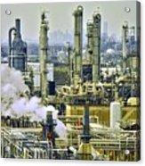 Refineries in Houston Texas Acrylic Print