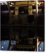 Reflected Below Acrylic Print