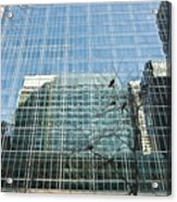 Reflected Buildings Acrylic Print