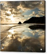 Reflected Costa Rica Sunset Acrylic Print