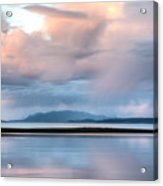 Reflected Pink Acrylic Print