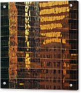 Reflecting Chicago Acrylic Print