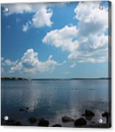 Reflecting Clouds  Acrylic Print