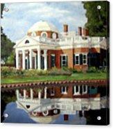 Reflecting On Jefferson Acrylic Print