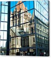 Reflecting On Religion Acrylic Print