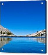 Reflecting On Treasure Lake Acrylic Print