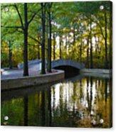 Reflecting Pool Roosevelt Park Acrylic Print