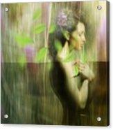 Reflection Acrylic Print by Andre Pillay