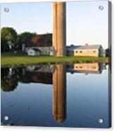 Reflection Barn Acrylic Print