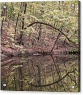 Ridge Run Reflection Acrylic Print