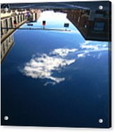 Reflection Glass Roof Acrylic Print