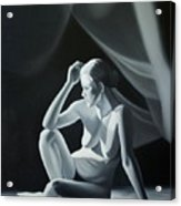 Reflection in Gray Acrylic Print