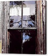 Reflection - In - The - Window  Acrylic Print
