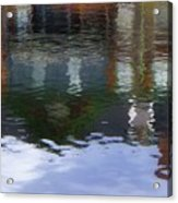 Reflection, No. 1 In Connetquot State Park Acrylic Print