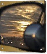 Reflection Of A Sunset Acrylic Print