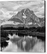 Reflection Of Signal Mountain Acrylic Print