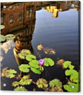 Reflection Of Tradition Acrylic Print