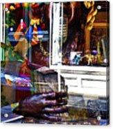 Reflection On Jazz Acrylic Print