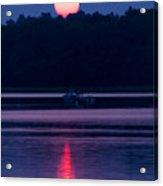 Reflection On The Bay Acrylic Print