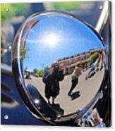 Reflection Selfie Acrylic Print