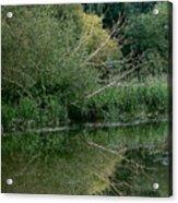 Reflection September 2015 Acrylic Print