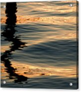 Reflections Abstract Acrylic Print
