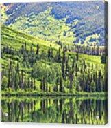 Reflections Alaska II Acrylic Print