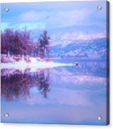 Reflections Along Highway 97 Acrylic Print